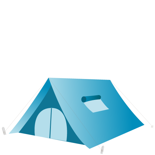 Camping equipment logo
