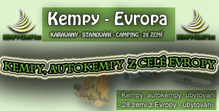 Kemp, autokempy, Evropa
