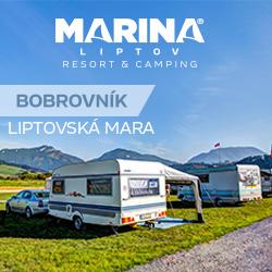 Campingplatz Marina - Bobrovník