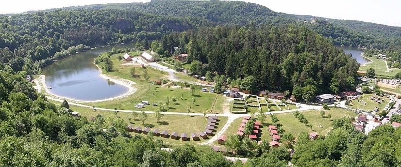 stany a stanování, vranovská přehrada