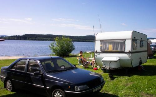 plocha pro karavan na Lipně