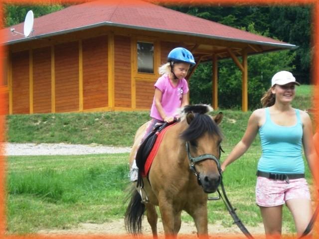 Aktivity pro děti - jízda na koni