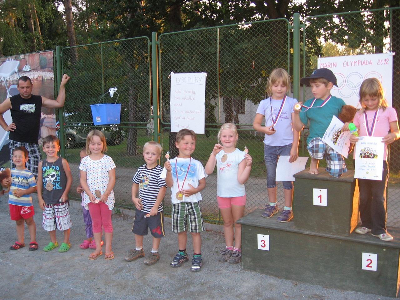 Školní pobyty v kempu Marin Mělice