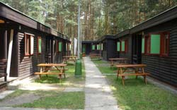 Camp Harmonie cottages