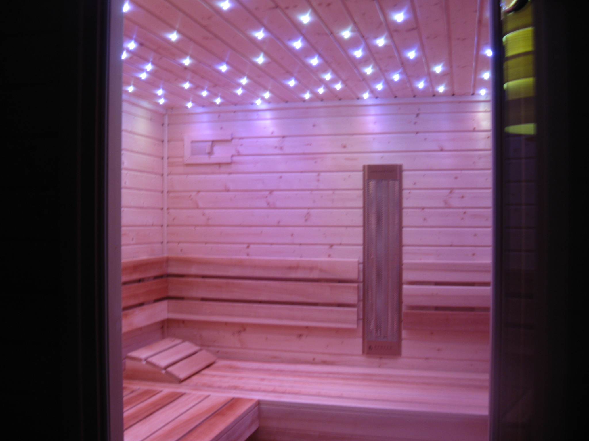 sauna w pensjonacie
