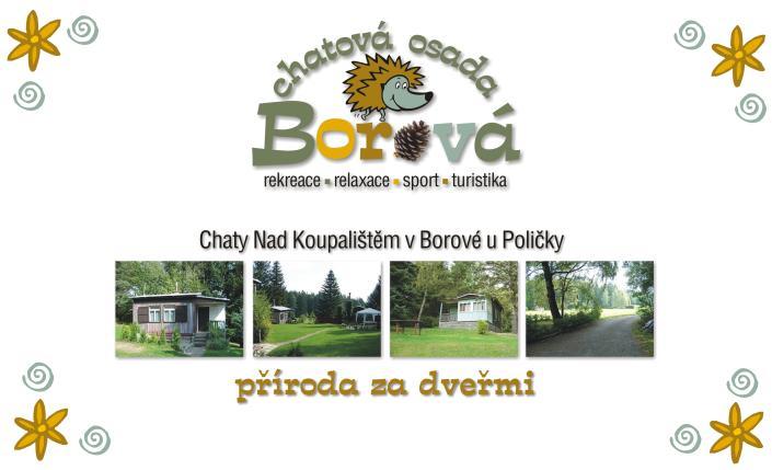 Chaty a kemp Borová