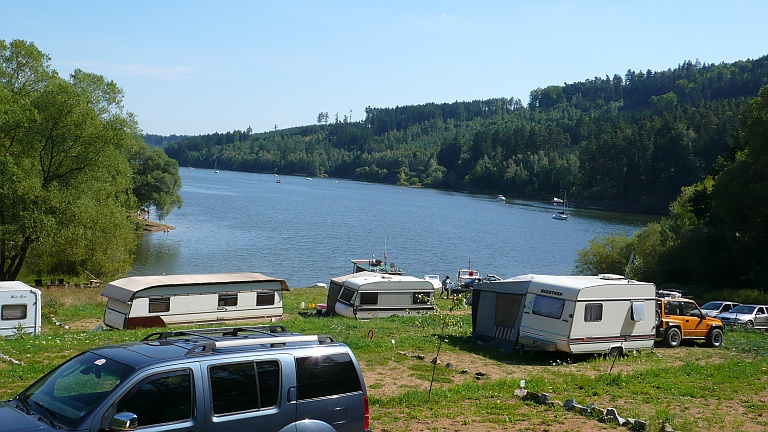 Autokemp Bukovanská bay - campingvogne