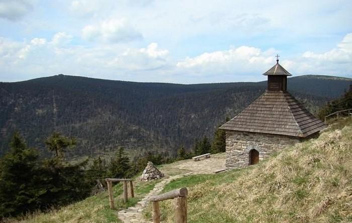 Vřesová Studánka in het Jeseníky-gebergte
