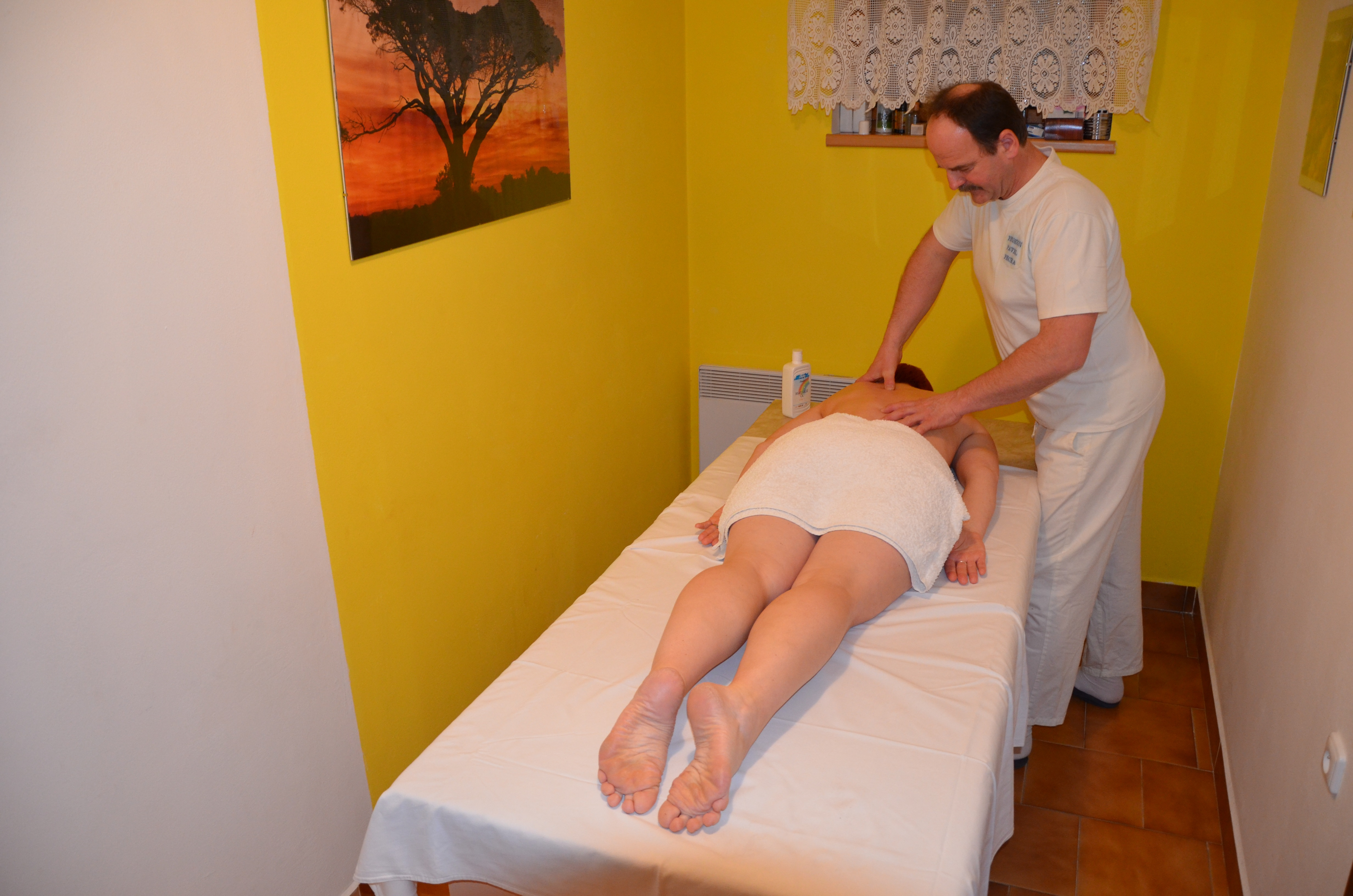 Massage du dos Penzion Pavel