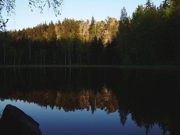 Jezero v Krkonoších