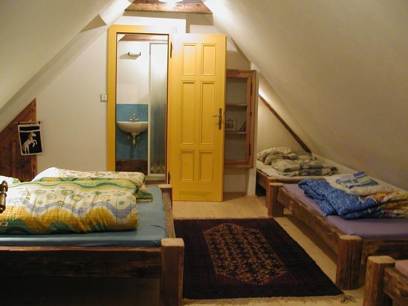 Velký apartmán - žlutý pokoj