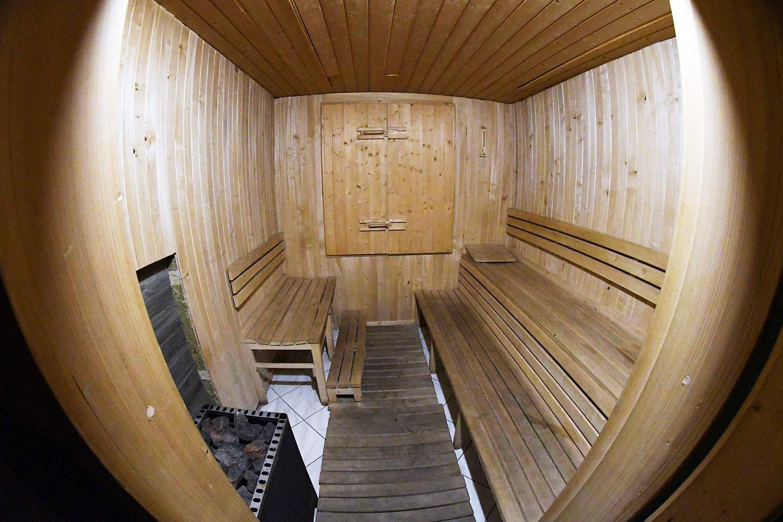 Sauna w chacie górskiej Jeseníky