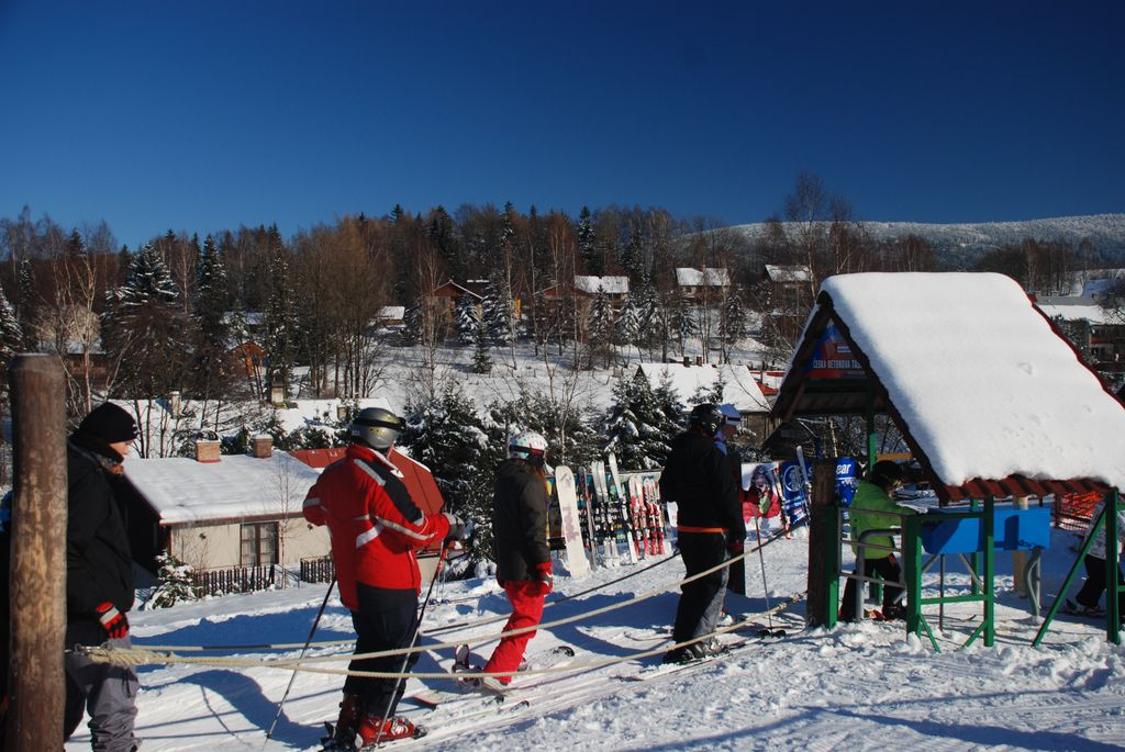 Zimní dovolená Orlické hory Sedloňov