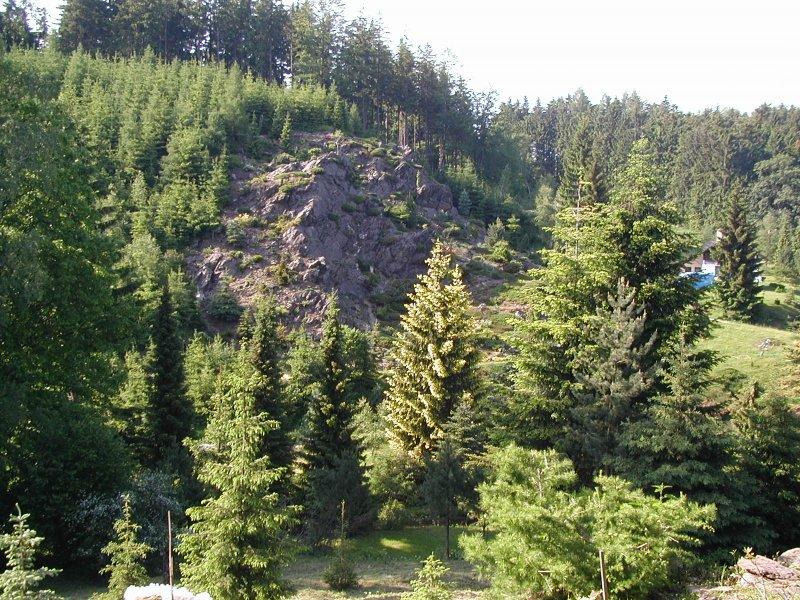 Okolí chaty, turistika Orlické hory