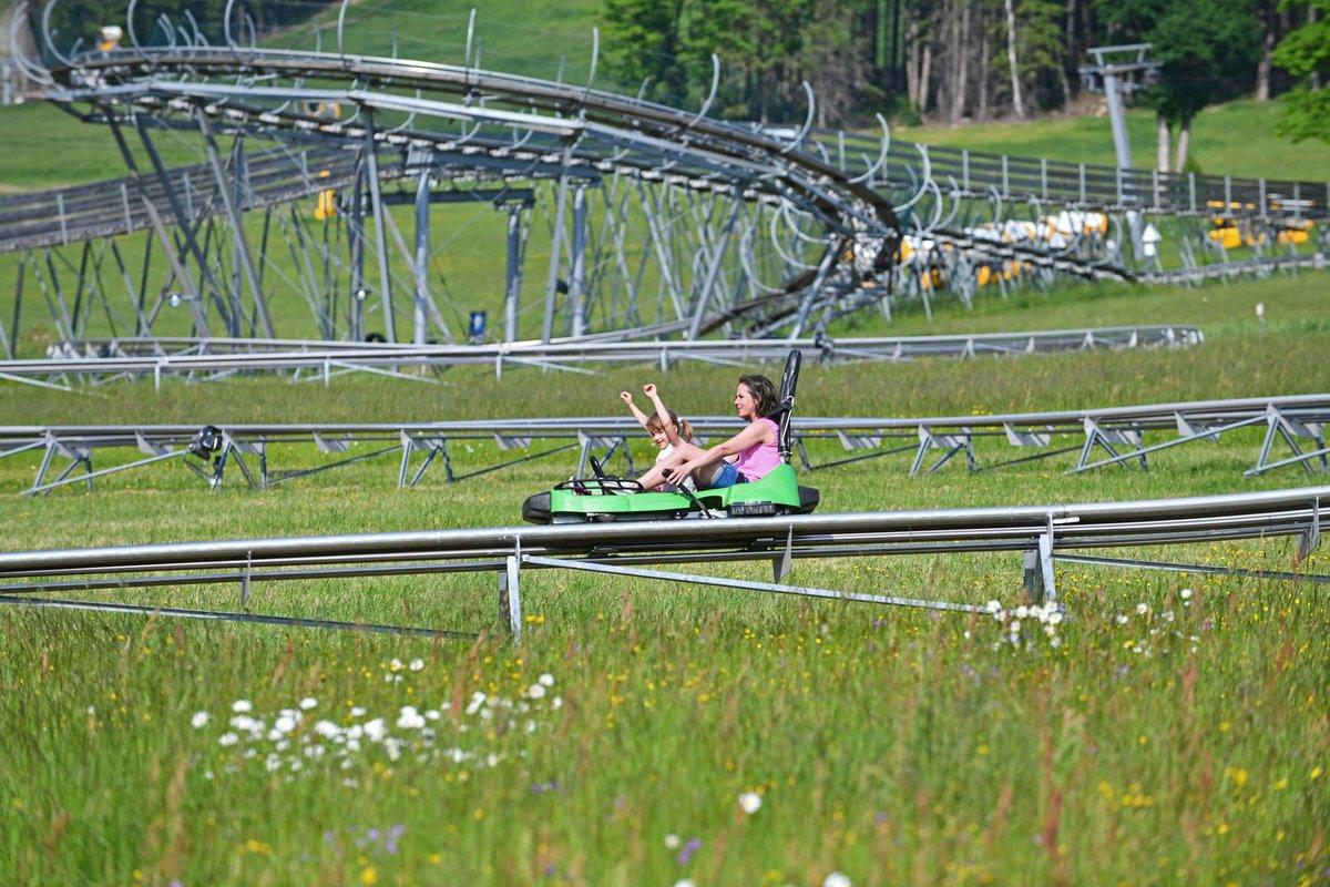Domek U Slona - tor bobslejowy