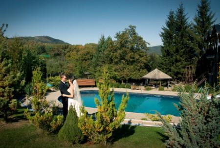 Svatba Na Domkách u bazénu, Šumperk