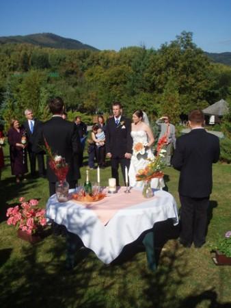 Svatební obřad Na Domkách