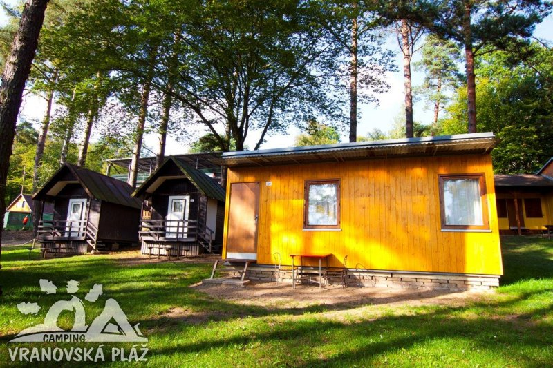 Cottages op de camping