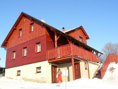 Chata Sluníčko zima