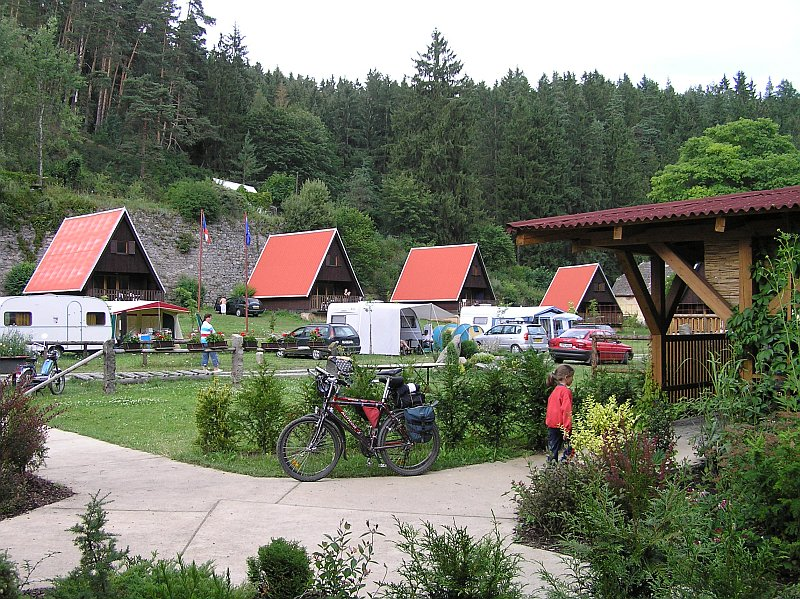 Equipped cottages - Camping Karolina