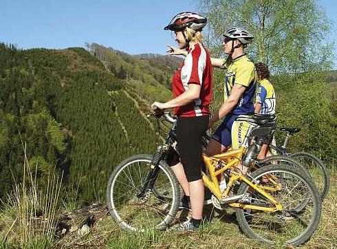 Kemp Slnečné skaly - pro cyklisty
