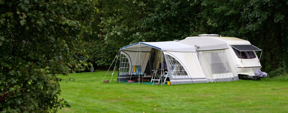 Camping Železná Ruda - karavany