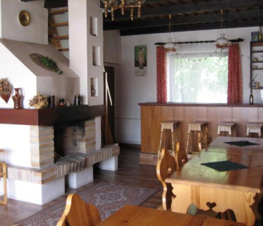 interieur van cottage Klenovice