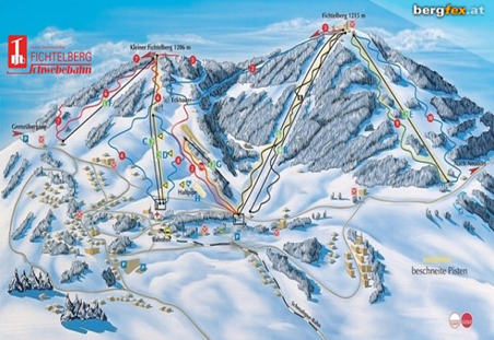 Lyžařské středisko Altenberg, 14,5 km od penzionu