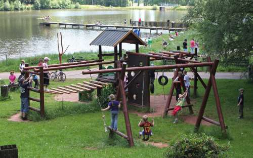 Hřiště pro děti - kemp Dolce Krkonoše