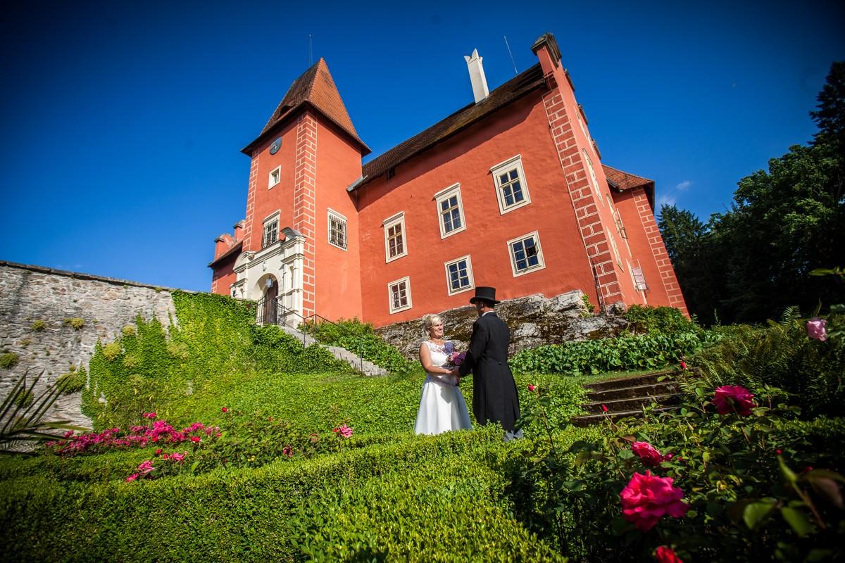 Hochzeiten Cervena Lhota - Pension Zlatovlaska, Südböhmen