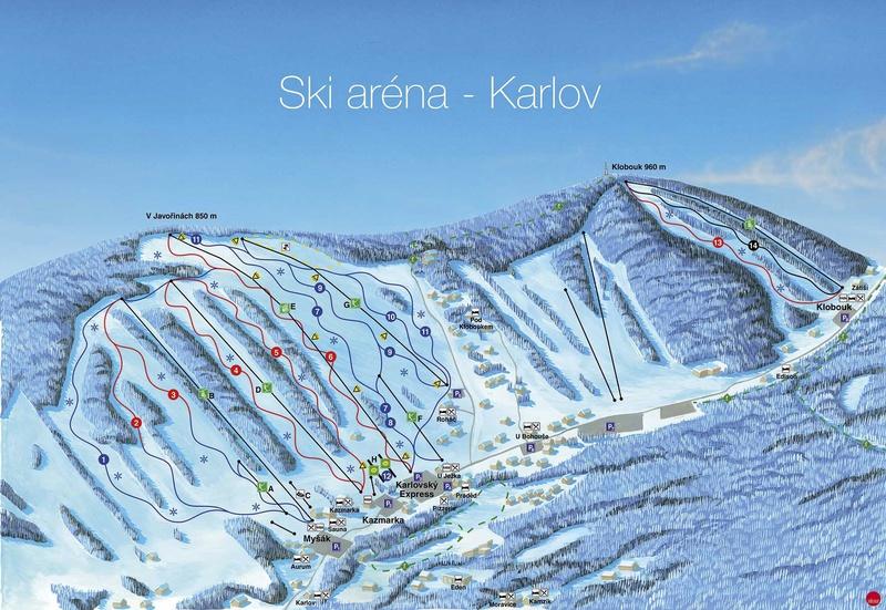 Ski arena Karlov - Jeseníky