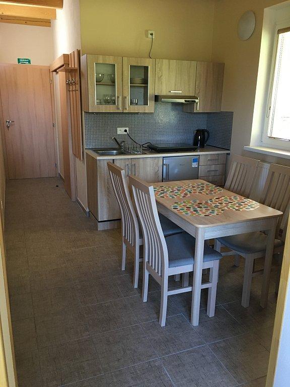 Kuchyňka Apartmán 1