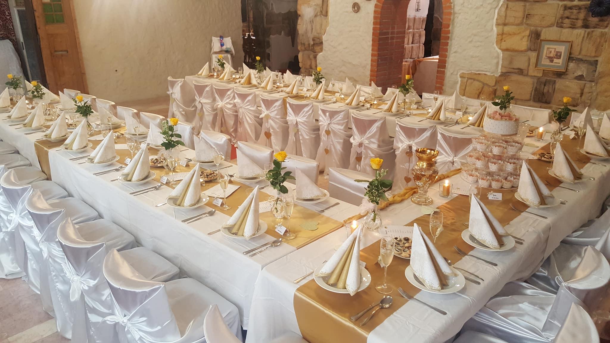 Svatební hostiny - svatby na Máchově jezeře, penzion u Duba