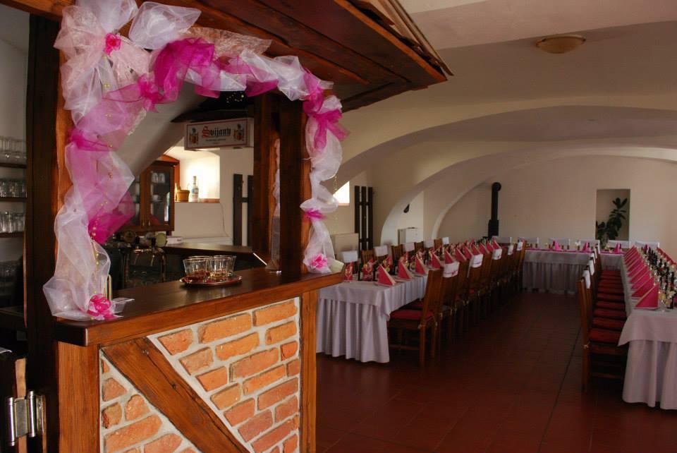 Výzdoba svatby Penzion U Farmáře