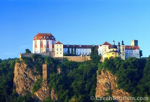 Zamek w Południowych Morawach