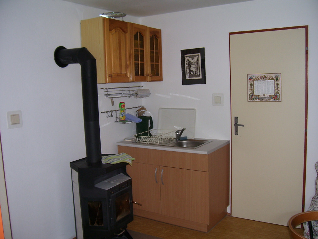 Kuchyňka apartmán č. 2 - Penzion U Jany, Kytlice