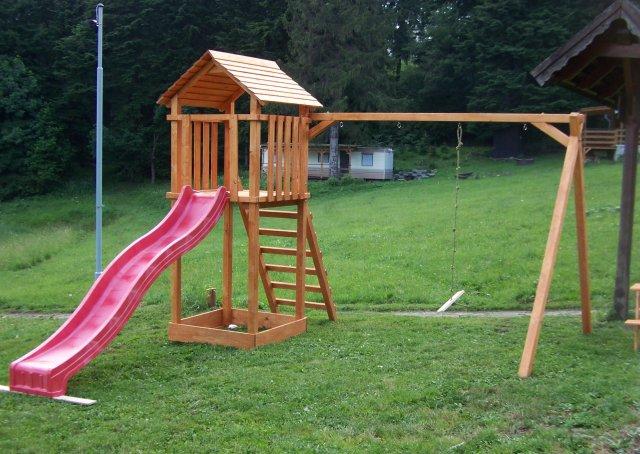Dětské hřiště - kemp Královec