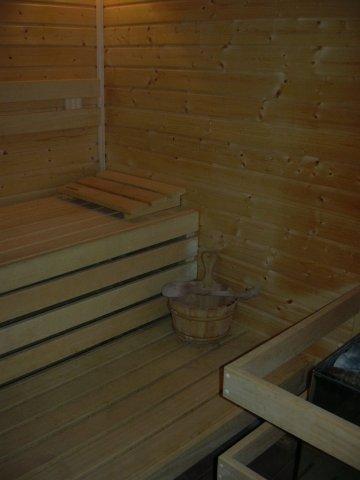 Sauna v areálu Královec