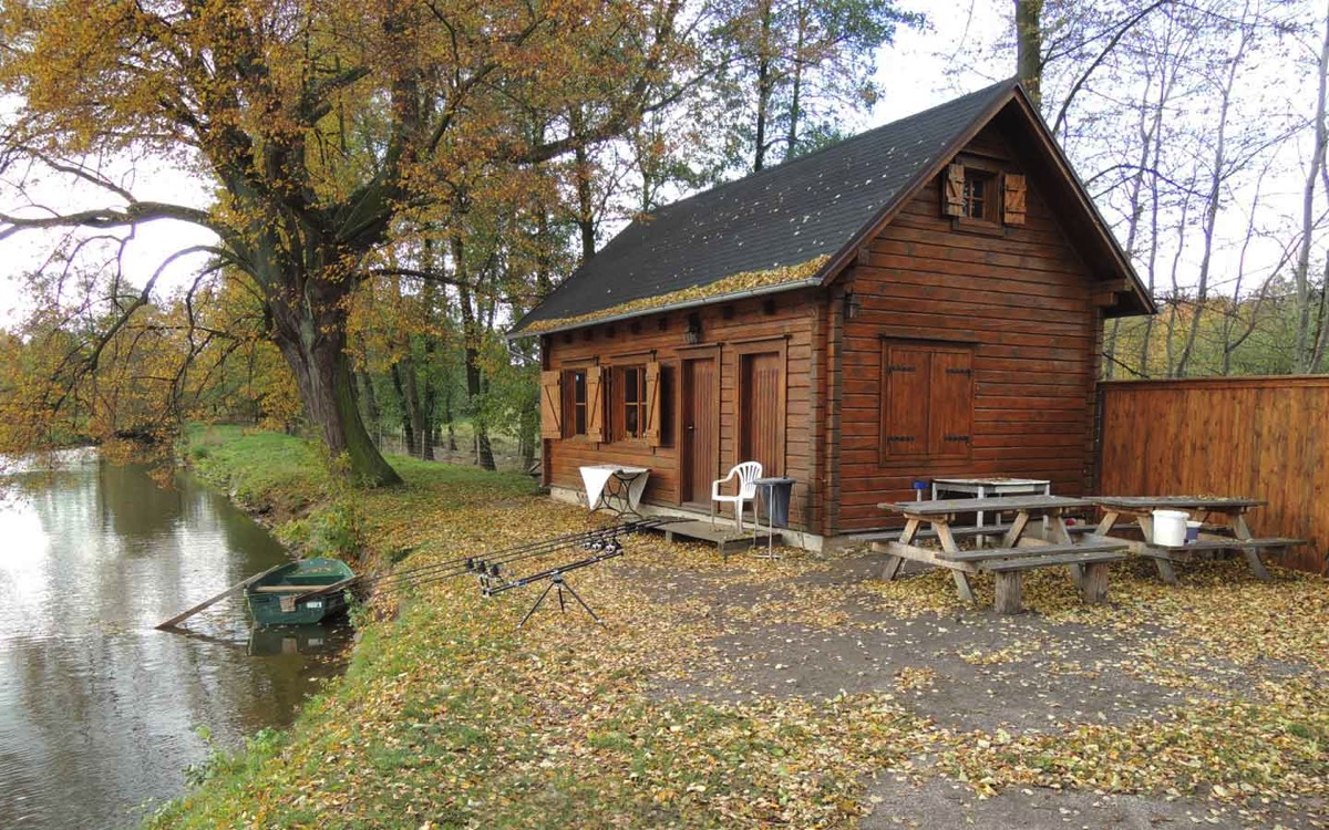 Sport fishing in the pension, Central Bohemia
