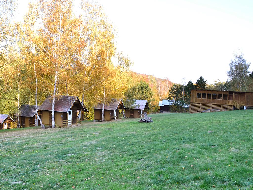 Kemp Maják Slapy- cottages