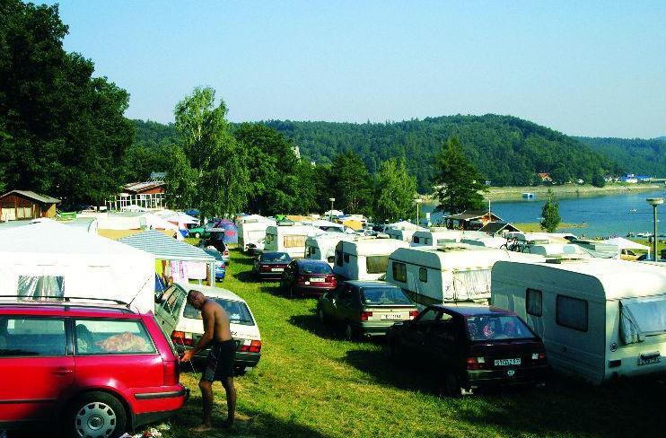 Plochy pro karavany Vranovská pláž