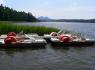 Camp Elita - Máchovo Lake - pedal rental