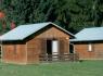 Kemp La Rocca - 4 lůžková chatka s WC