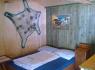 Kemp Slnečné skaly - chatka interiér