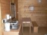 Kemp Slnečné skaly - srub interiér
