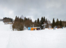 Kemp Železná Ruda - lyžárna, kolárna
