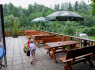 Restaurace Koliba - Venkovní terasa, Komorní Lhotka