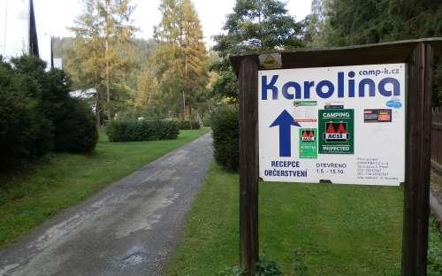 Camping Karolina ingang