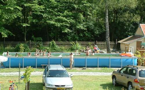 Camping Karolina swimming pool