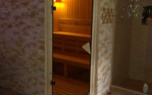 Sauna in the guesthouse